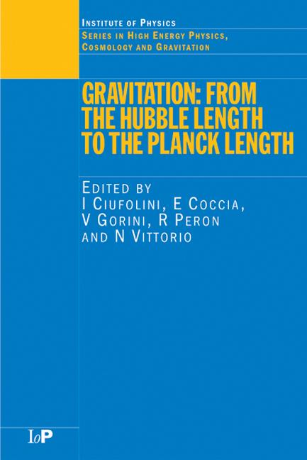 Gravitation From the Hubble Length to the Planck Length book cover