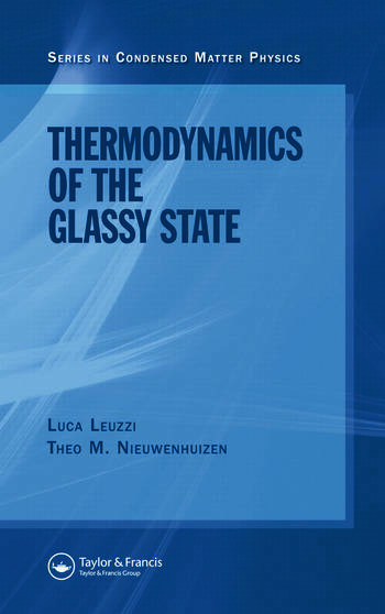 Thermodynamics of the Glassy State book cover