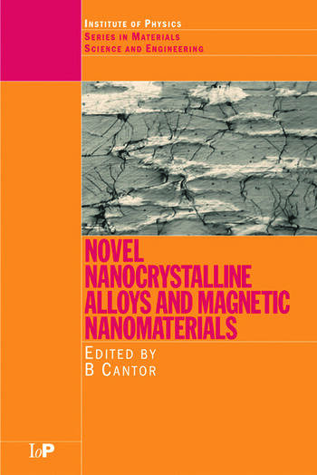 Novel Nanocrystalline Alloys and Magnetic Nanomaterials book cover