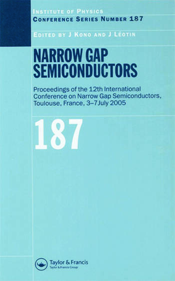 Narrow Gap Semiconductors Proceedings of the 12th International Conference on Narrow Gap Semiconductors book cover
