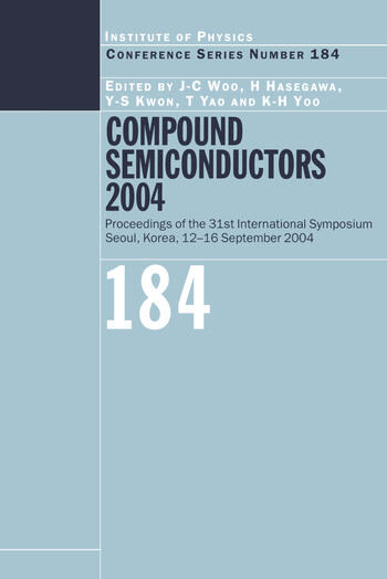 Compound Semiconductors 2004 Compound Semiconductors for Quantum Science and Nanostructures book cover