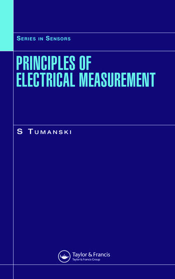 Principles of Electrical Measurement book cover