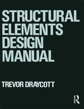 Structural Elements Design Manual book cover