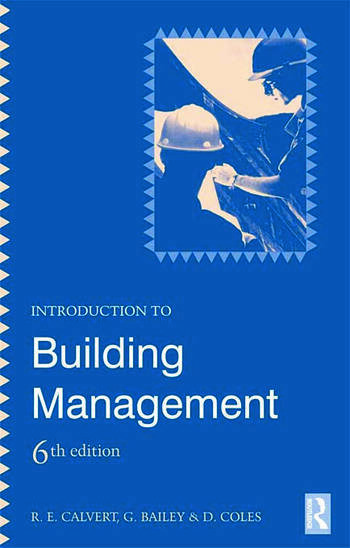 Introduction to Building Management book cover