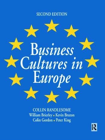 Business Cultures in Europe book cover