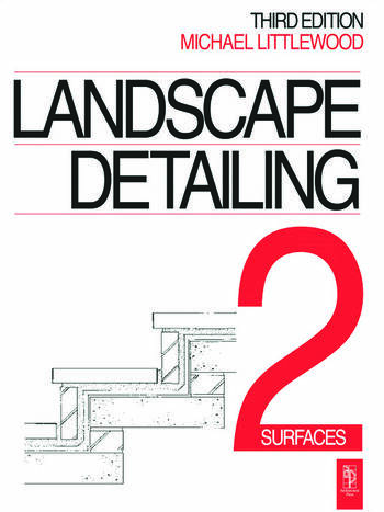 Landscape Detailing Volume 2 Surfaces book cover
