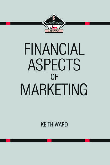 Financial Aspects of Marketing book cover