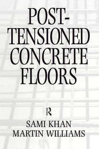 Post-Tensioned Concrete Floors book cover
