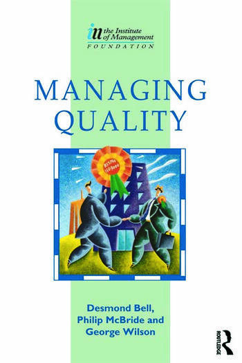 Managing Quality book cover