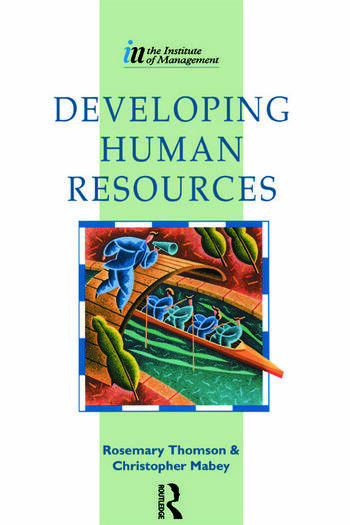 Developing Human Resources book cover