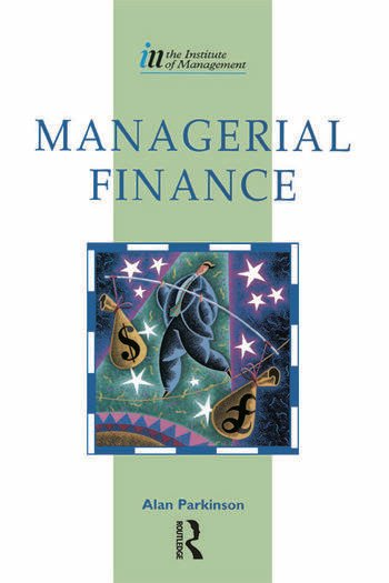 Managerial Finance book cover