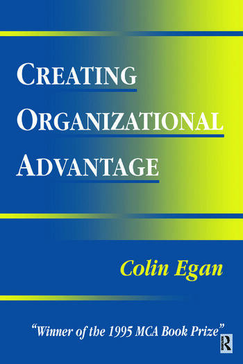 Creating Organizational Advantage book cover