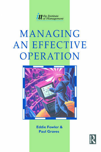 Managing an Effective Operation book cover