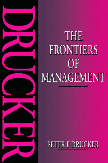The Frontiers of Management book cover