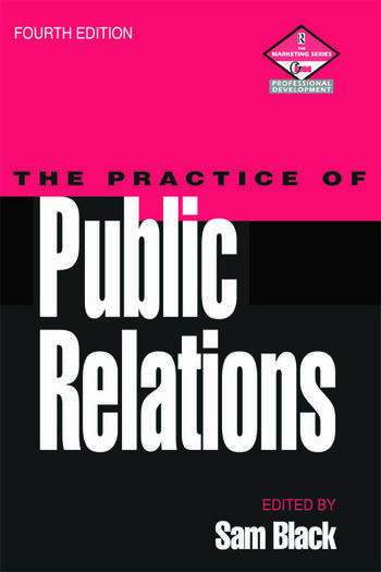 Practice of Public Relations book cover