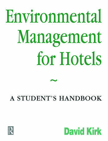 Environmental Management for Hotels book cover