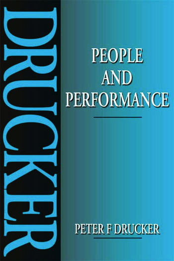 People and Performance book cover