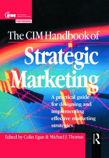 The CIM Handbook of Strategic Marketing book cover