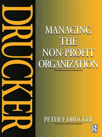 Managing the Non-Profit Organization book cover
