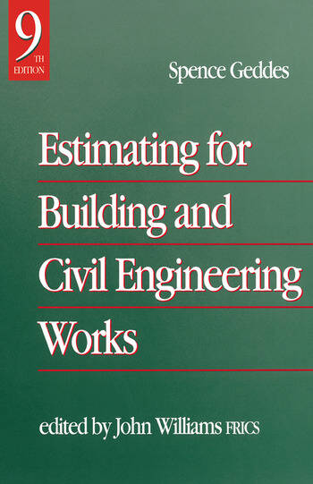 Estimating for Building & Civil Engineering Work book cover