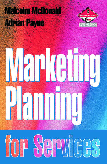 Marketing Planning for Services book cover