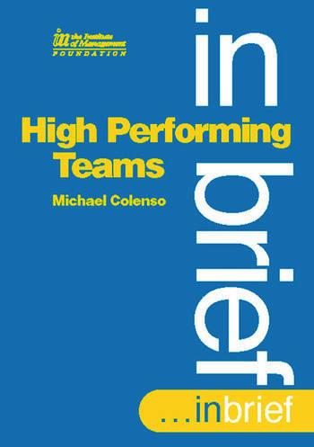 High Performing Teams In Brief book cover