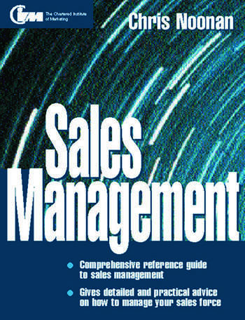 Sales Management book cover