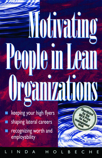 Motivating People in Lean Organizations book cover