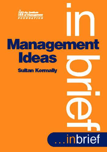 Management Ideas book cover