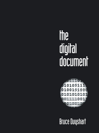The Digital Document book cover