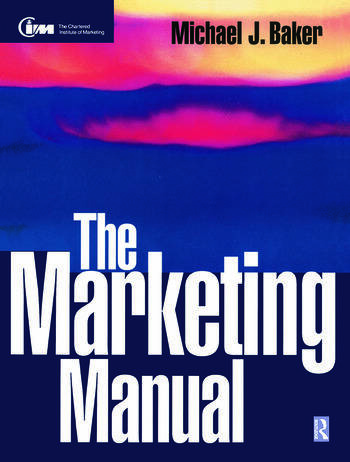 The Marketing Manual book cover