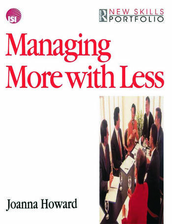 Managing More with Less book cover
