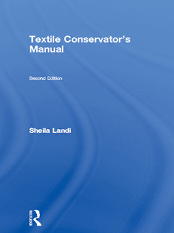 Textile Conservator's Manual book cover
