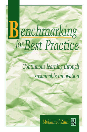 Benchmarking for Best Practice book cover