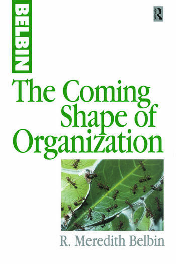 The Coming Shape of Organization book cover