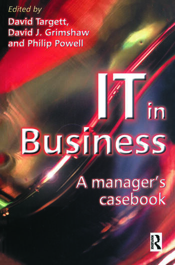 IT in Business: A Business Manager's Casebook book cover