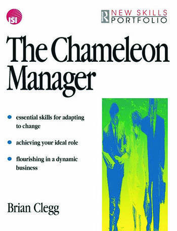 The Chameleon Manager book cover