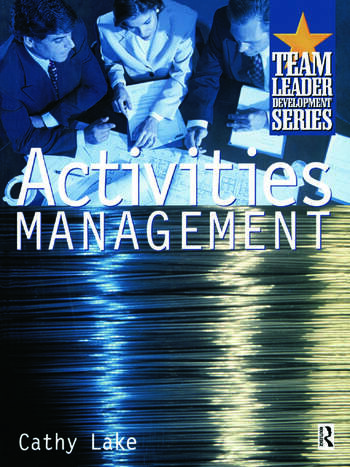 Activities Management book cover