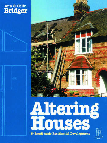 Altering Houses and Small Scale Residential Developments book cover