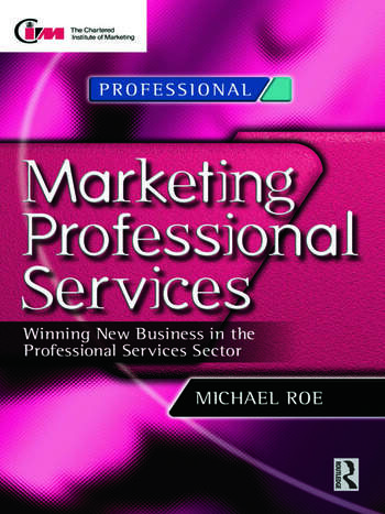 Marketing Professional Services book cover