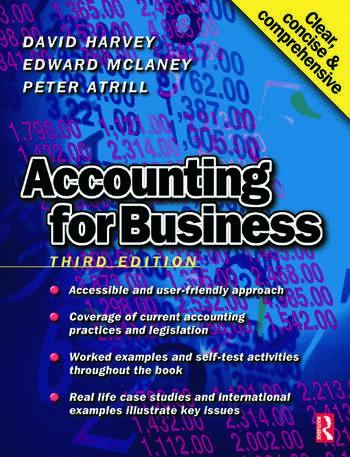 Accounting for Business book cover