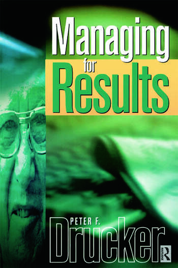 Managing For Results book cover