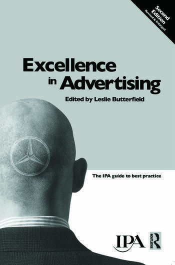 Excellence in Advertising book cover