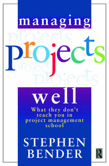 Managing Projects Well book cover