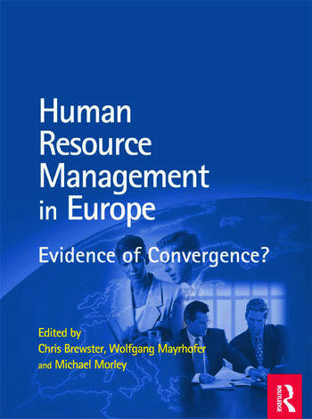 HRM in Europe book cover