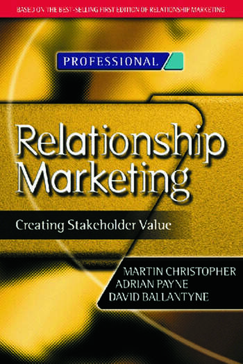 Relationship Marketing book cover