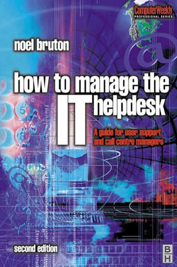 How to Manage the IT Help Desk book cover
