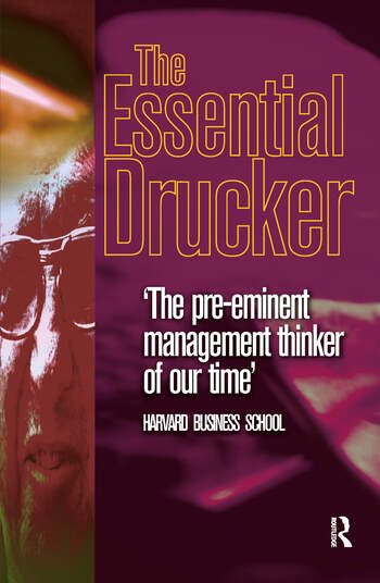 Essential Drucker book cover