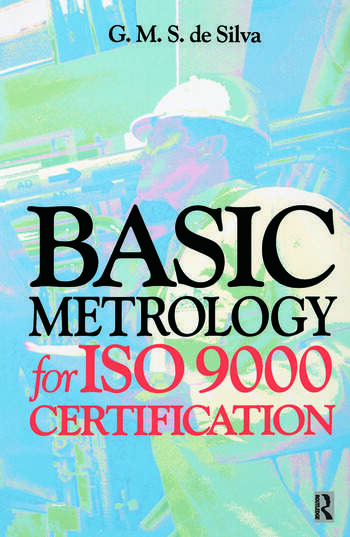 Basic Metrology for ISO 9000 Certification book cover