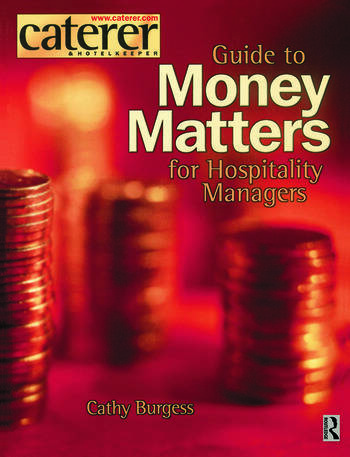 Money Matters for Hospitality Managers book cover
